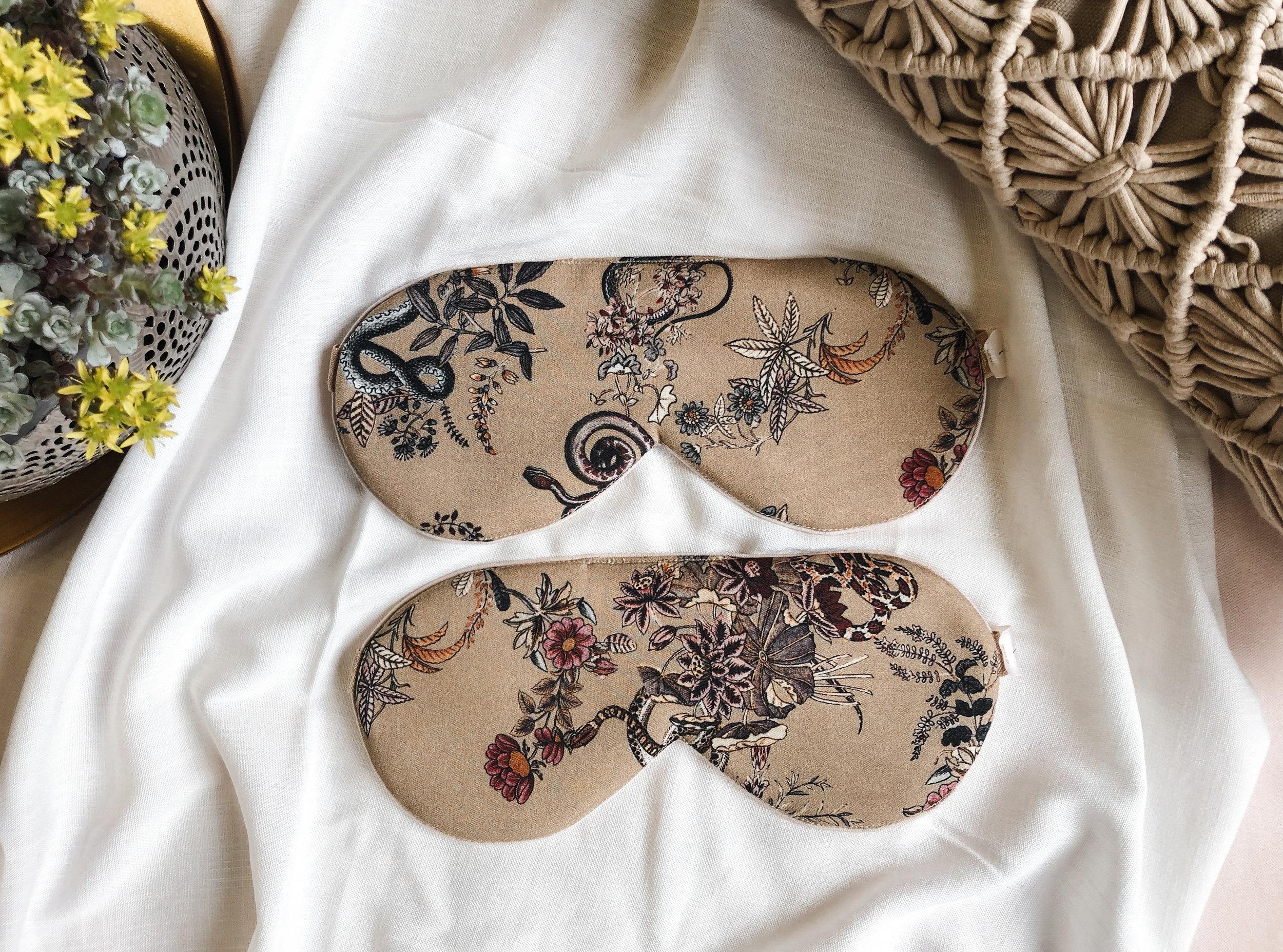 Matching sleep mask