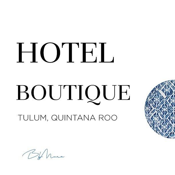 Proyecto: Hotel Boutique 💙🌊 Ubicación: Tulum, Quintana Roo. 📍 #ByMuraArq
