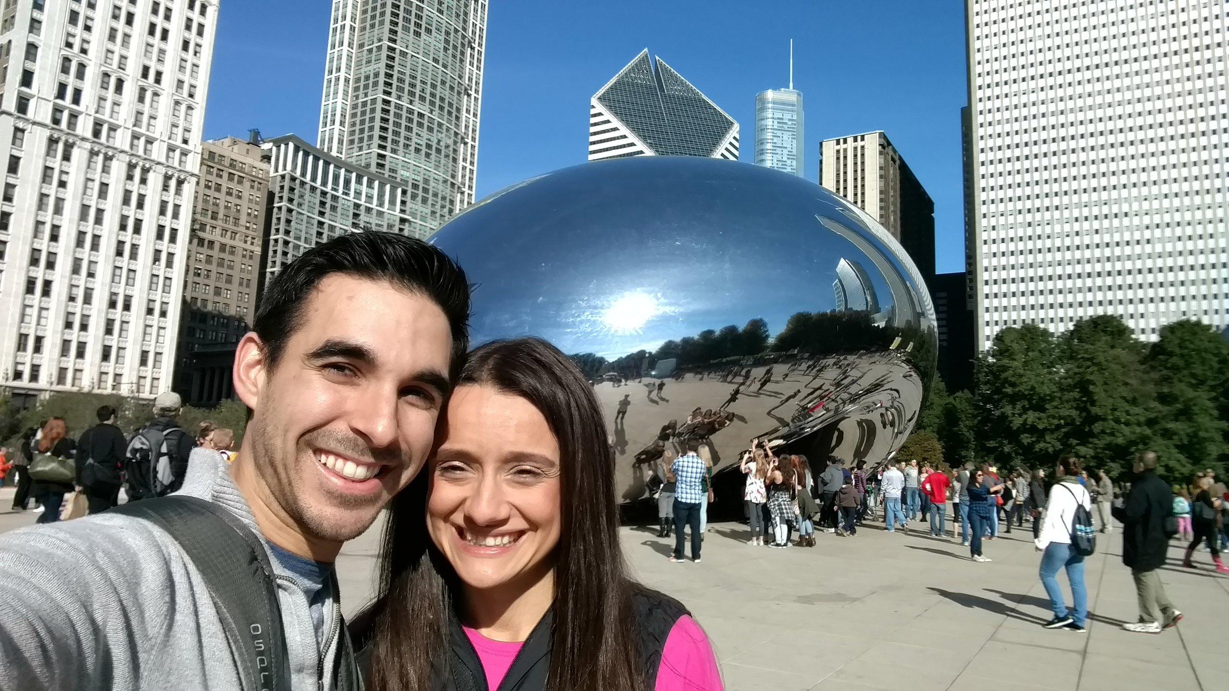 Chicago Marathon Travel Millennium Monument