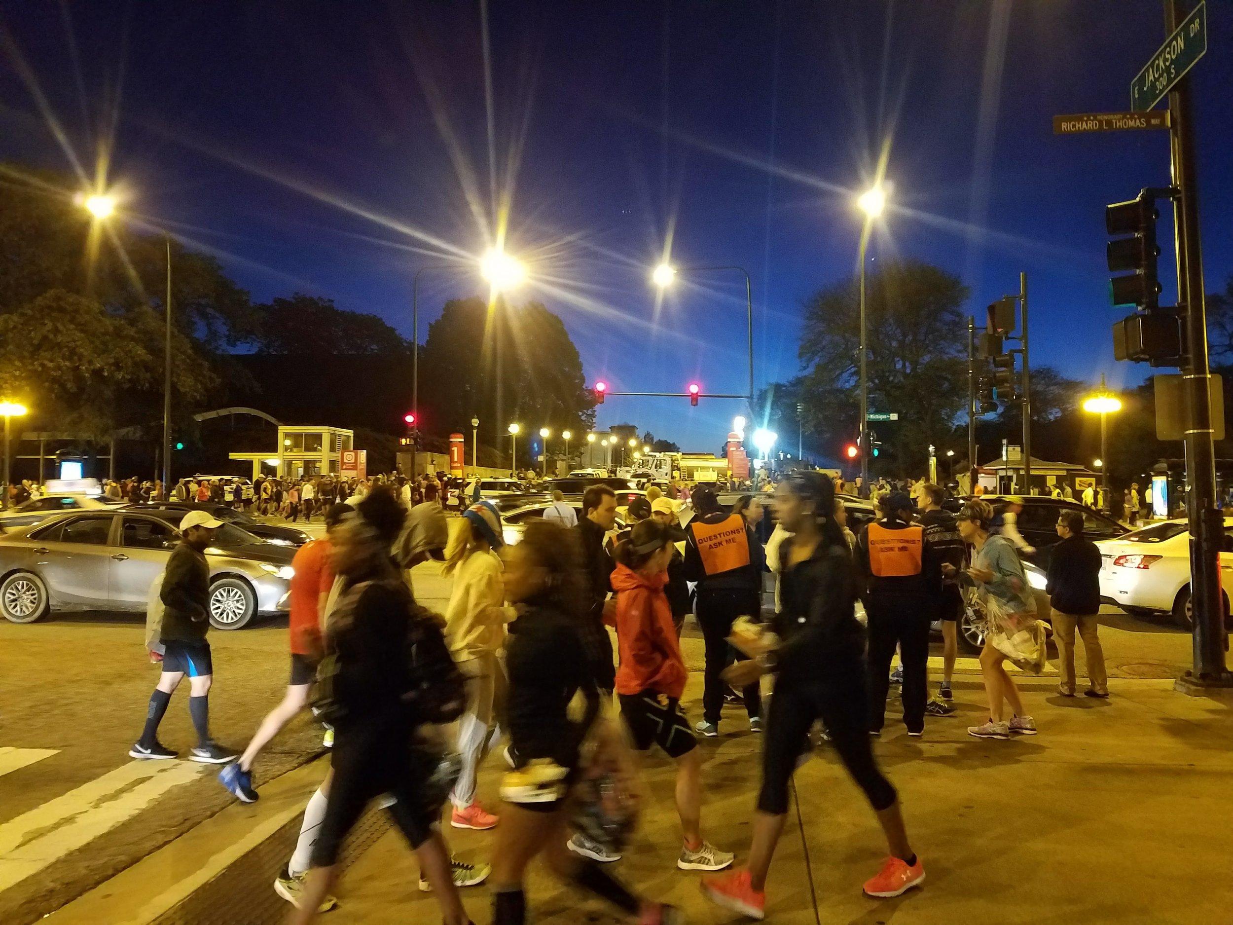 Chicago Marathon Travel Race Start