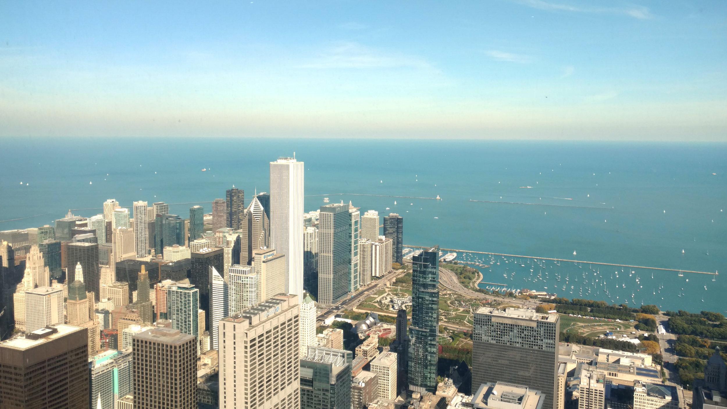 Sears Tower Chicago Marathon Travel