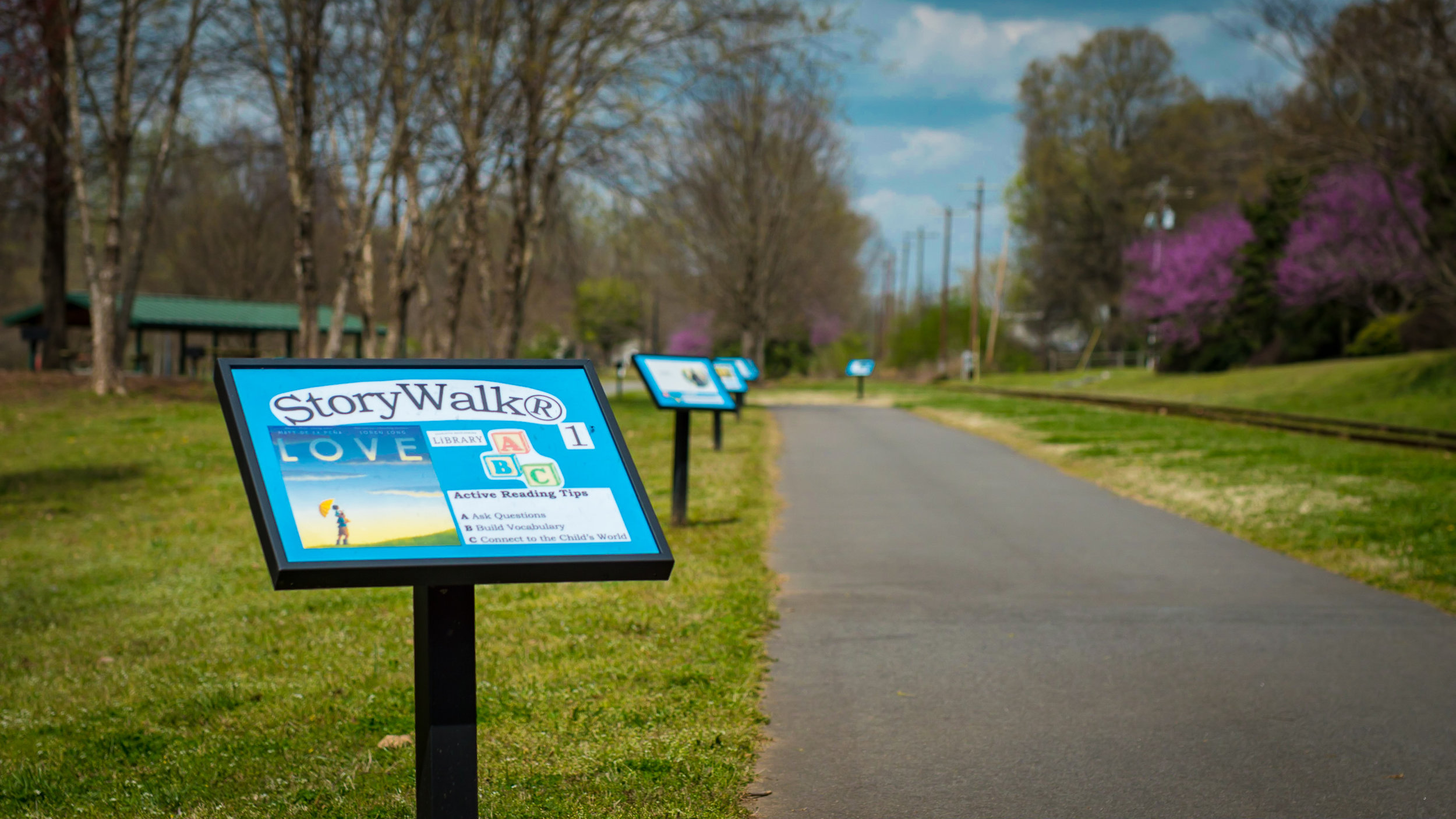 Story Walk Wesley Heights Green-way