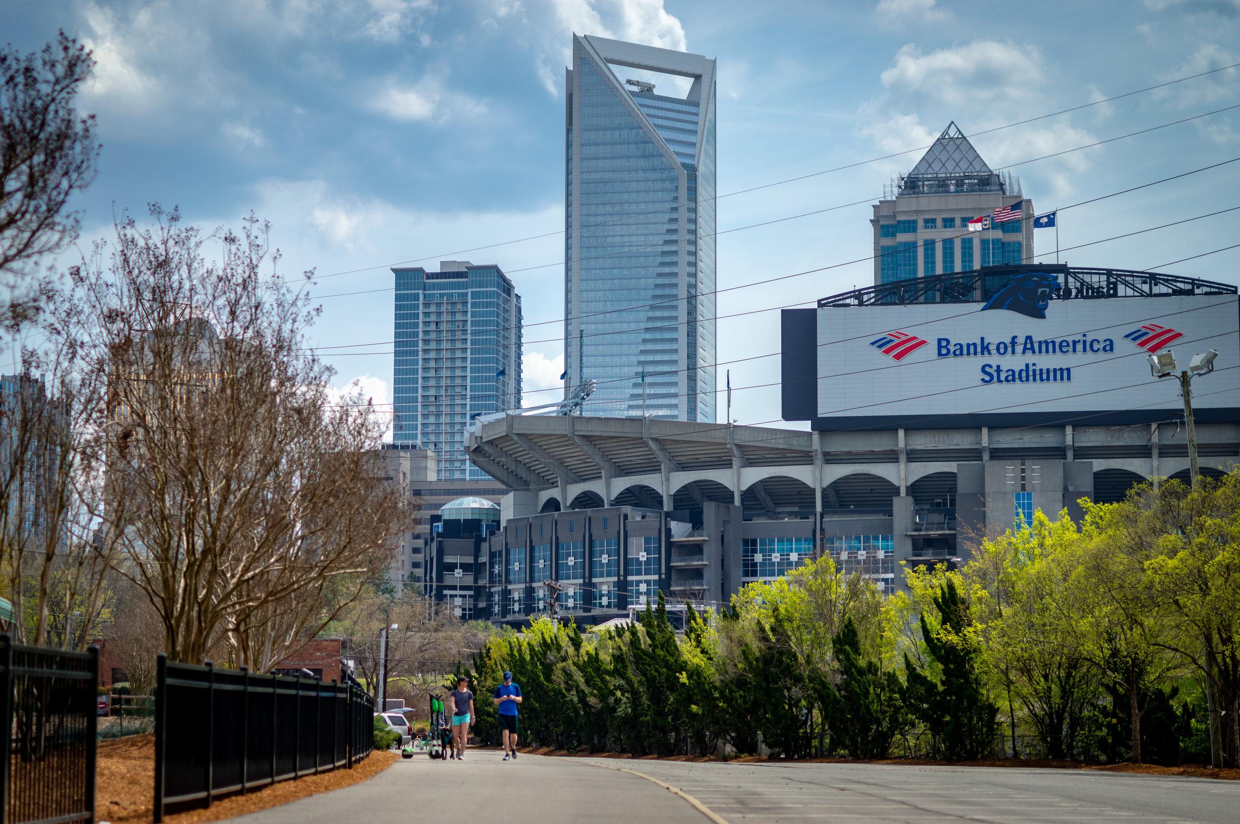 Carolina Panters  Bank of America Stadium