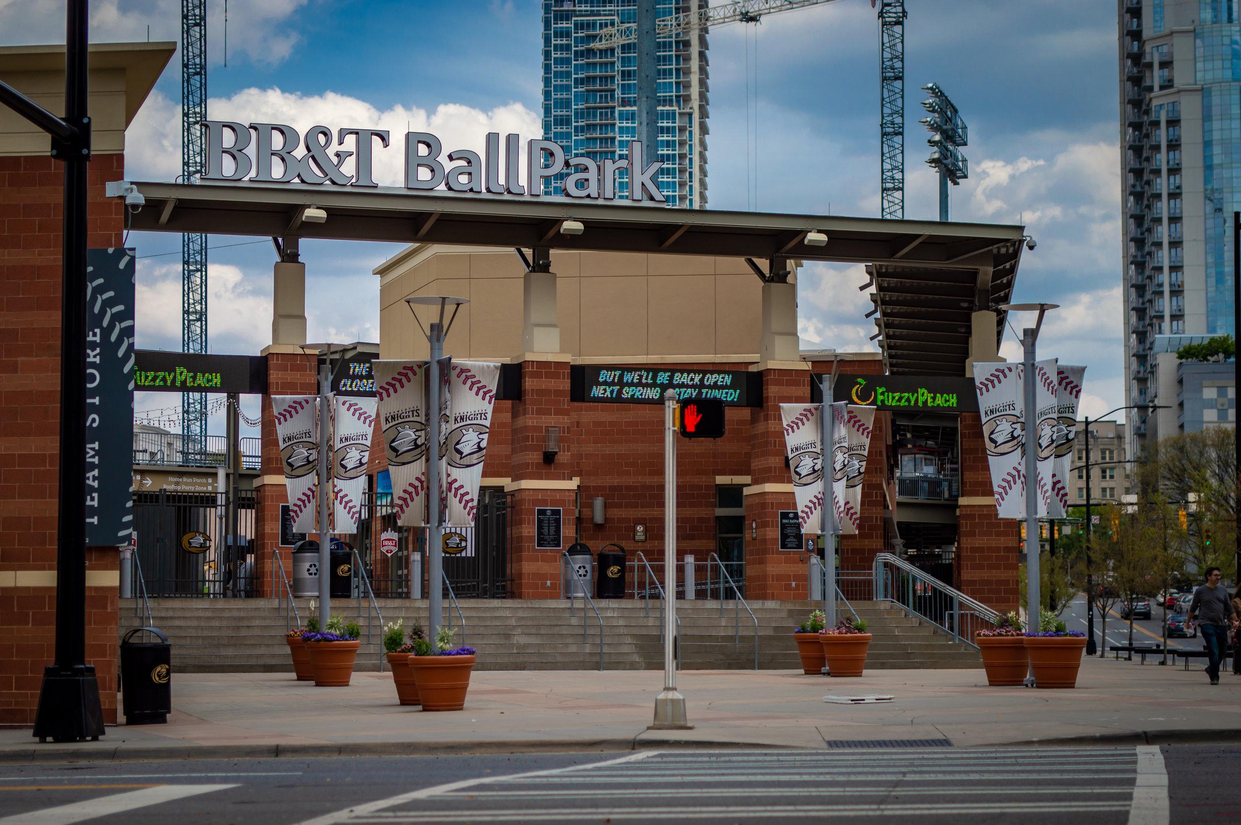 Charlotte Knights BB&T Ball Park