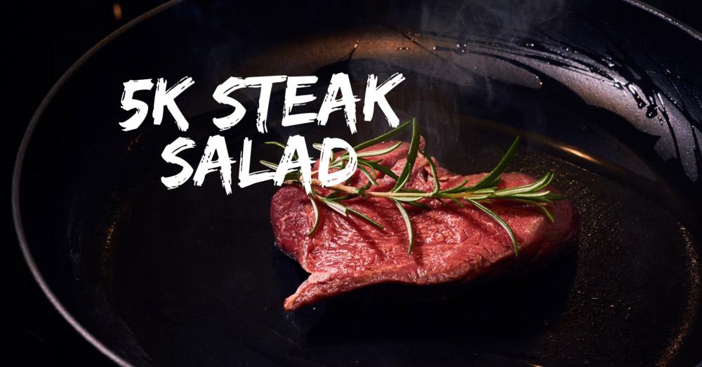Health High Protein Flank Steak Salad