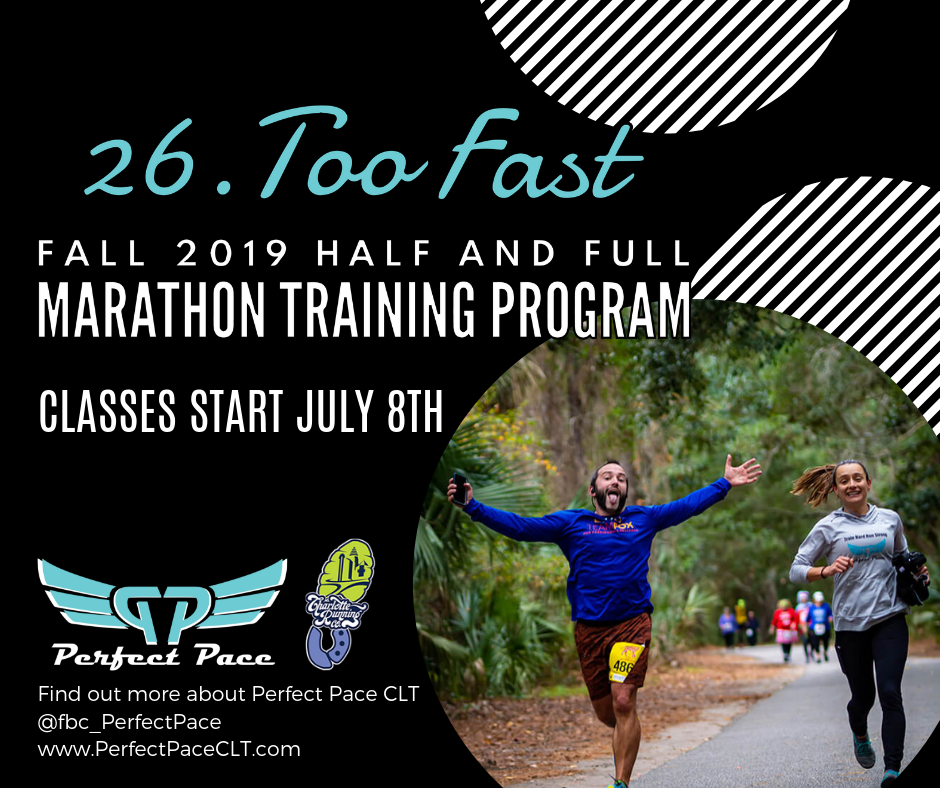 2019 Full and Half Marathon Training Program