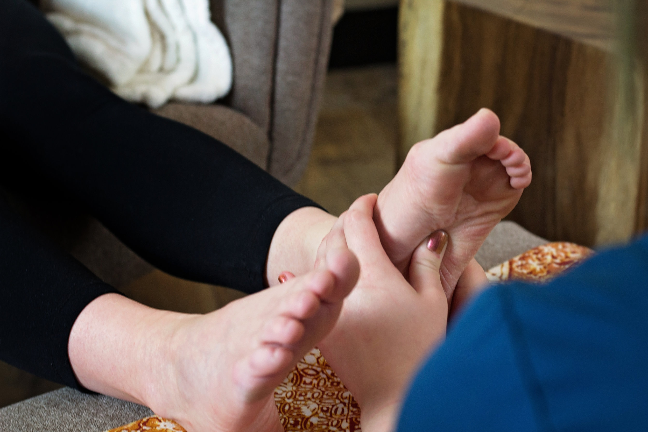 CBD Reflexology Add-On - Add on to any reflexology service for $9.95CBD is a powerful anti-inflammatory, regulates homeostasis, and soothes chronic pain. Add this to your reflexology service to relieve deep aches and pain.*100% THC-free and provides approximately 150 mg of CBD per ounce of oil. The average reflexology service uses about 1 ounce of oil per guest.Note: When booking your reflexology service, please leave us a note in the Special Requests section naming the Add-On you would like.