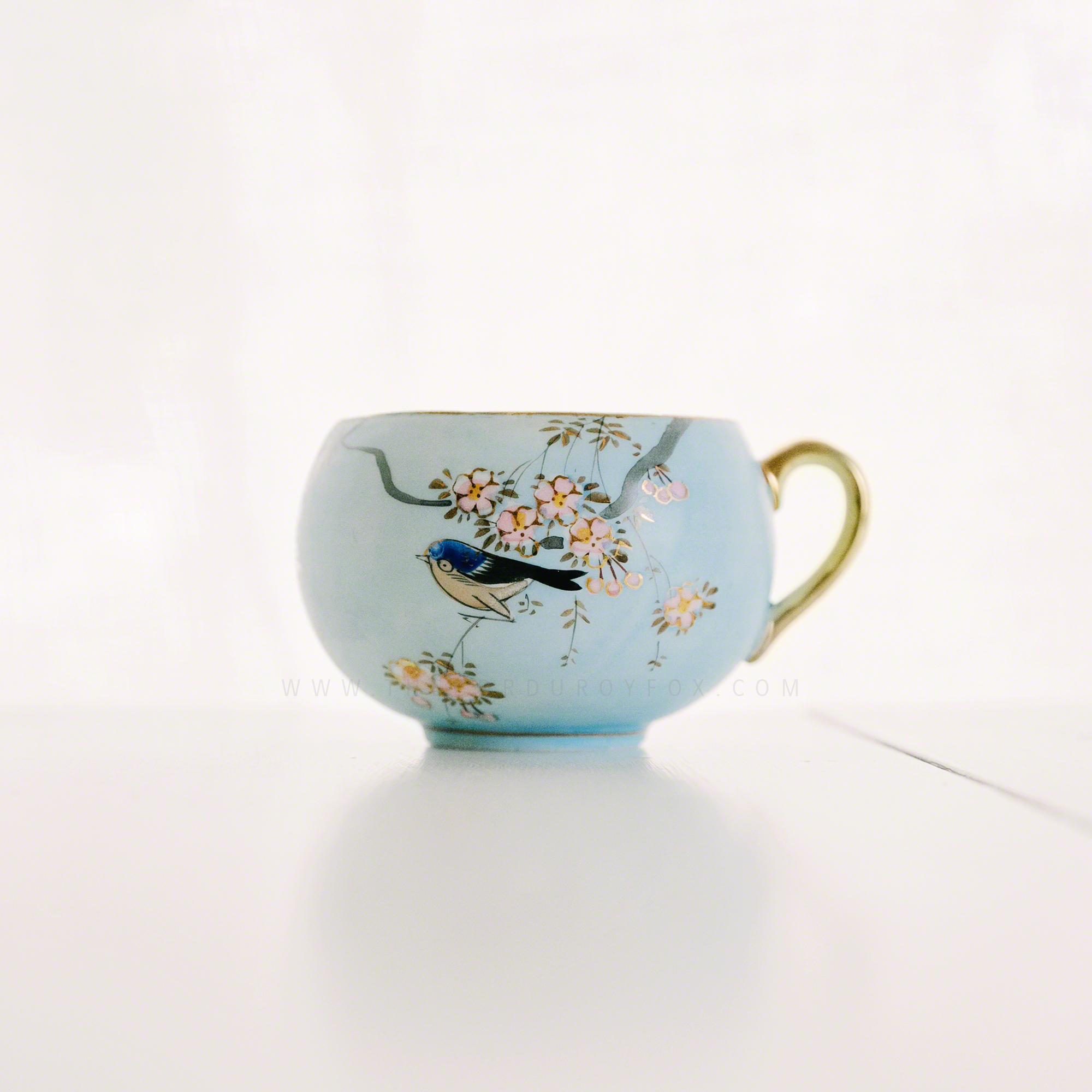Blue Bird Teacup | The Corduroy Fox