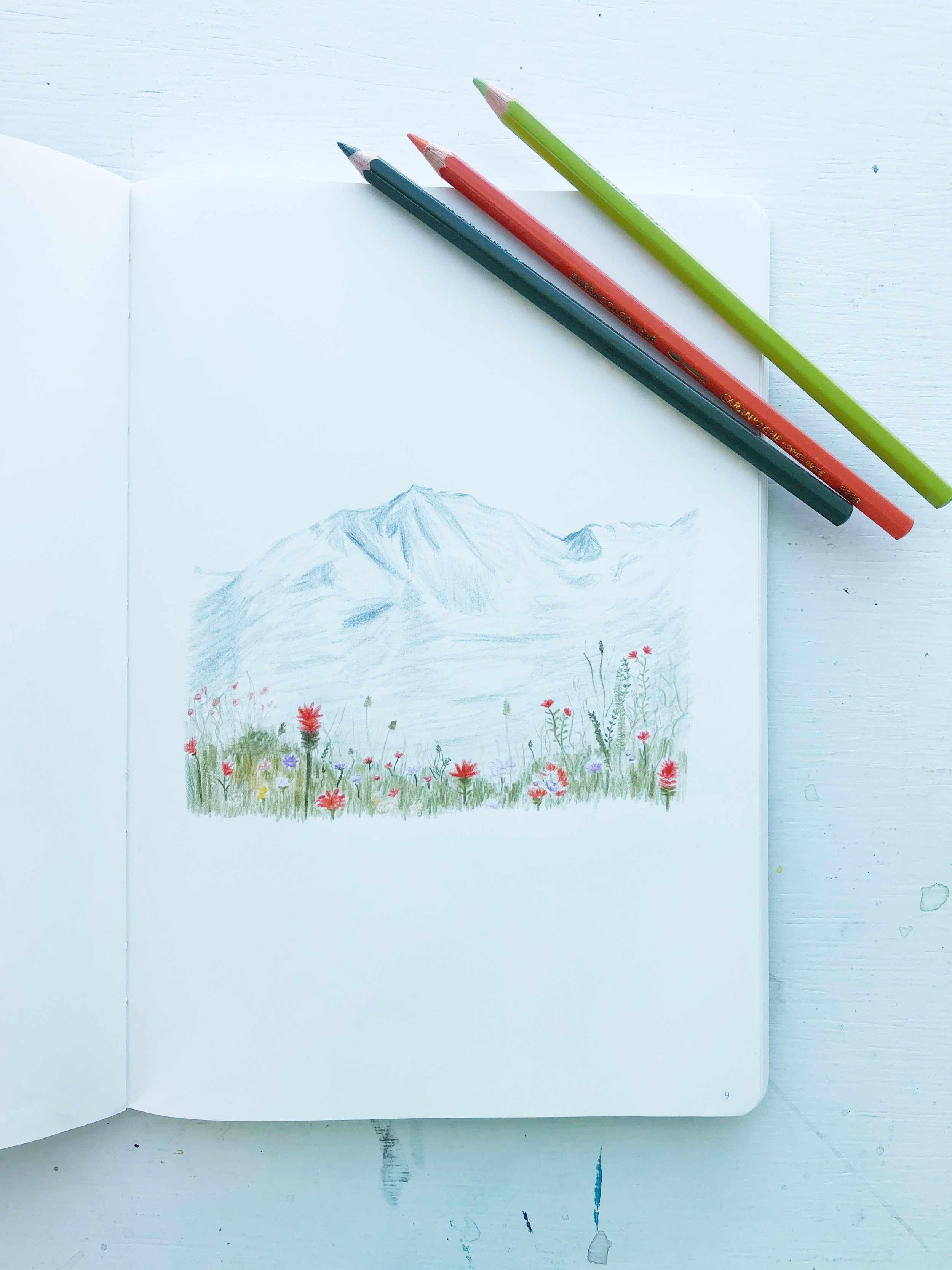 Late Summer Mountains by Wandering in Whimsy