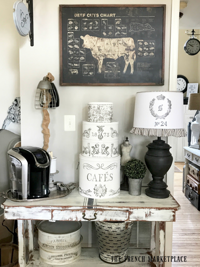 I hope I've inspired you to create some pretty and functional storage tins for your home too. Happy crafting!