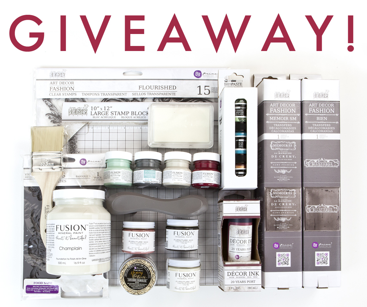 And, you have one more day left to enter our giveaway in our [re]design with prima group on Facebook. See details and enter here: https://www.facebook.com/groups/redesignwithprima/