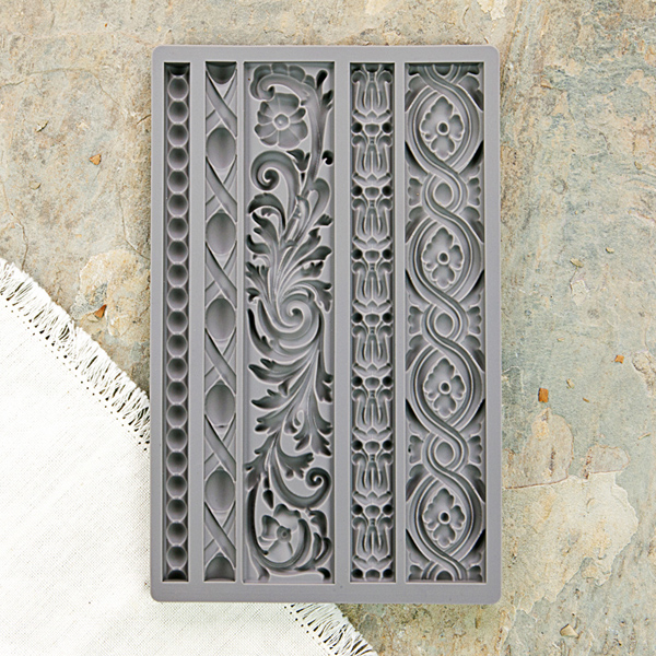 This is the IOD mould  I used, called Moulding 1--815325. It offers a variety of designs and widths,  making it very versatile to apply them for any kind of project.