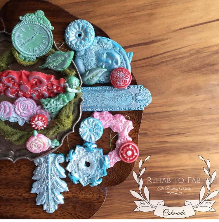 For the holidays, we all love making special treats for our loved ones. Stephanie Coon from  Rehab to Fab  came up with this amazing idea to create unique candy using your IOD moulds, candy melts and more! IOD moulds are food safe and come in a variety of styles that can be used for cakes, cupcakes, candies, chocolates and cookies. Here is what she did...