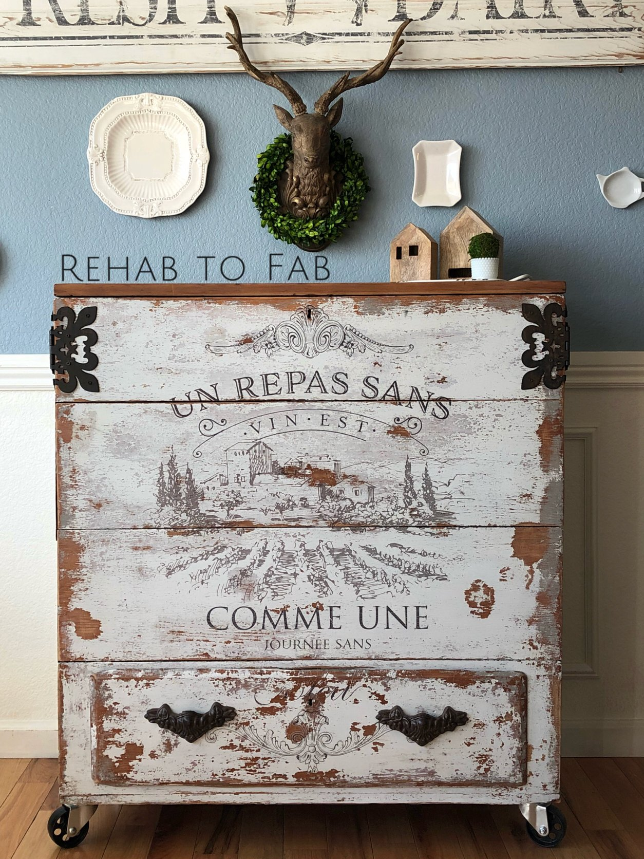 Thank you for stopping by-we hope you enjoyed today's post with Stephanie and her amazing Rustic Chest. Be sure to follow her on social media to catch all of her latest furniture pieces, tutorials and informative posts here:  Instagram: https://www.instagram.com/stephanie_rehabtofab/   Facebook: https://www.facebook.com/RehabtoFab/