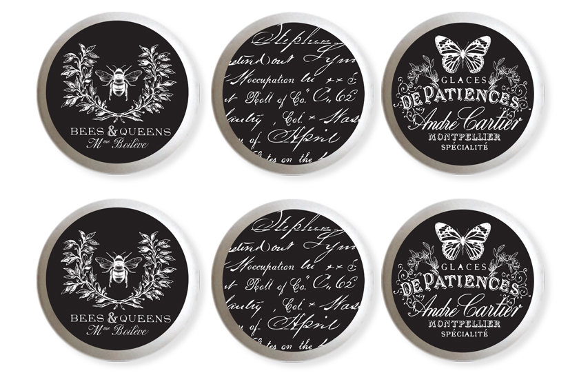 Our new knob transfers will add the perfect finishing touch to your hardware. We released 9 design combinations..