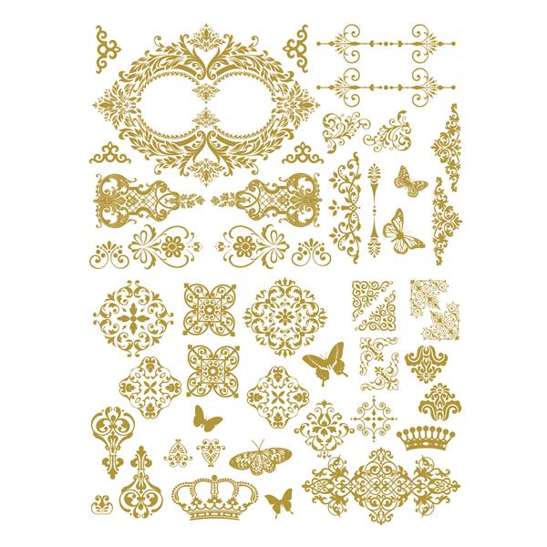 Gilded Baroque Scrollwork-635695