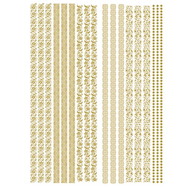Gilded Inlay Scrolls-635671