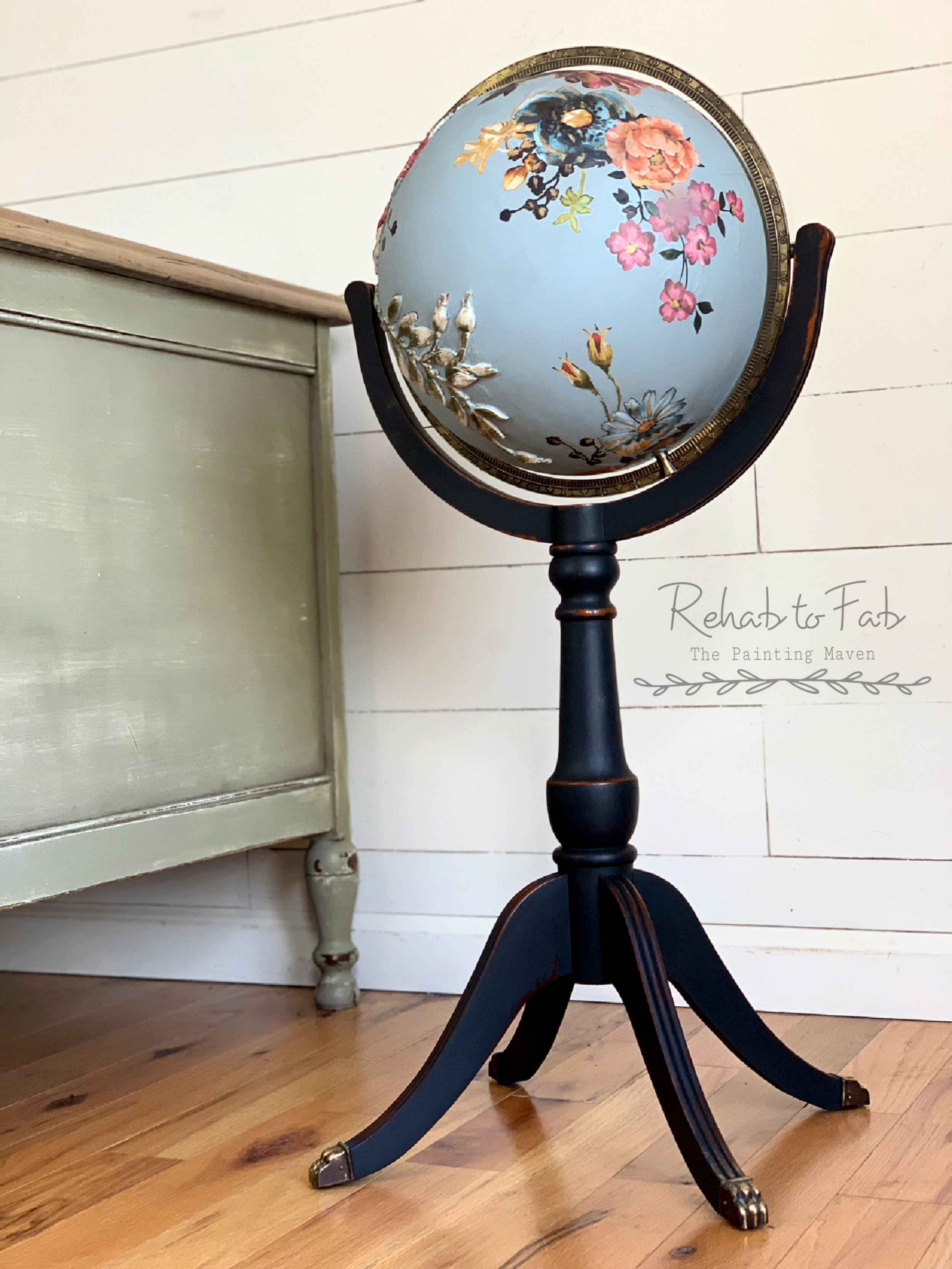 """This will be a very cool prop for my staged pieces. Hope you enjoyed this simple but neat redesign.""~ Stephanie Coon Rehab to Fab"