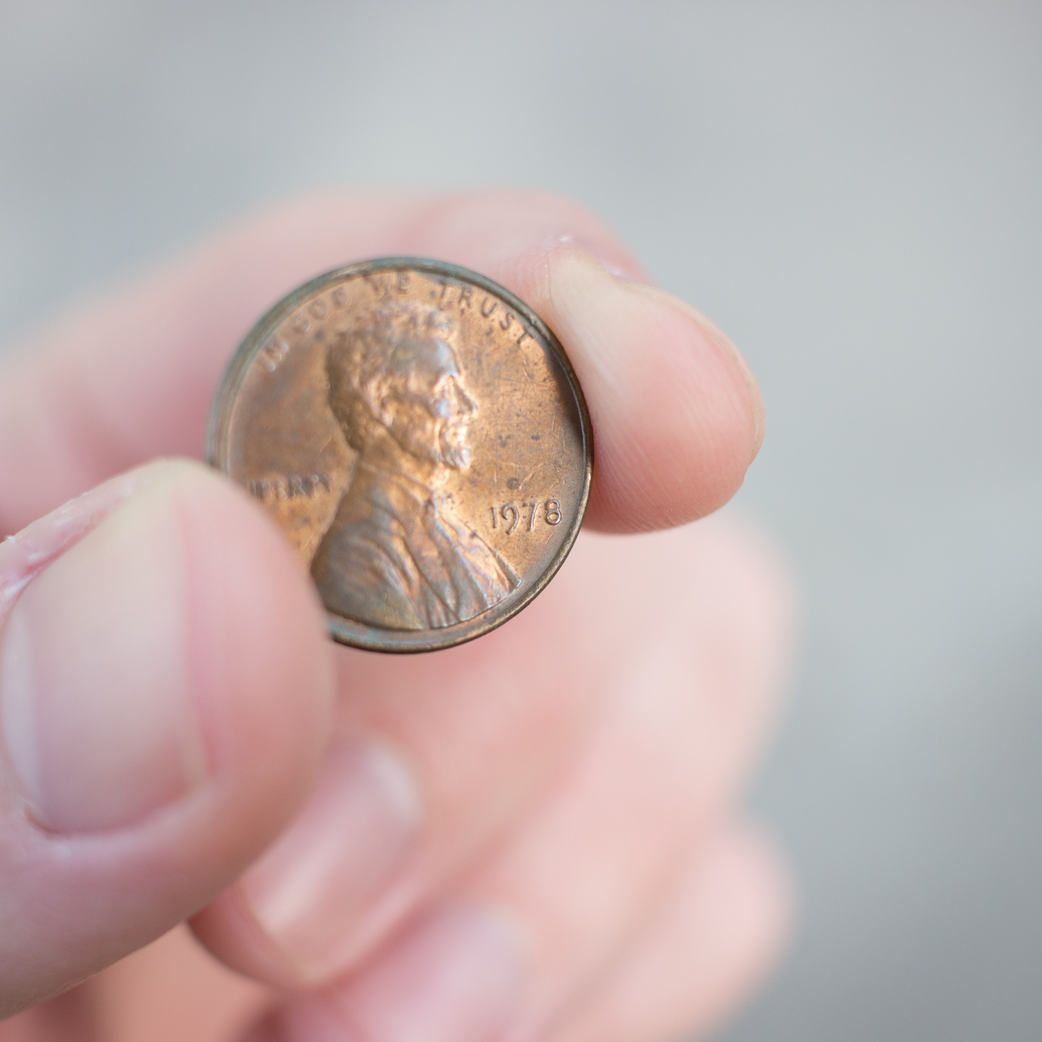 Here's my penny from 1978!