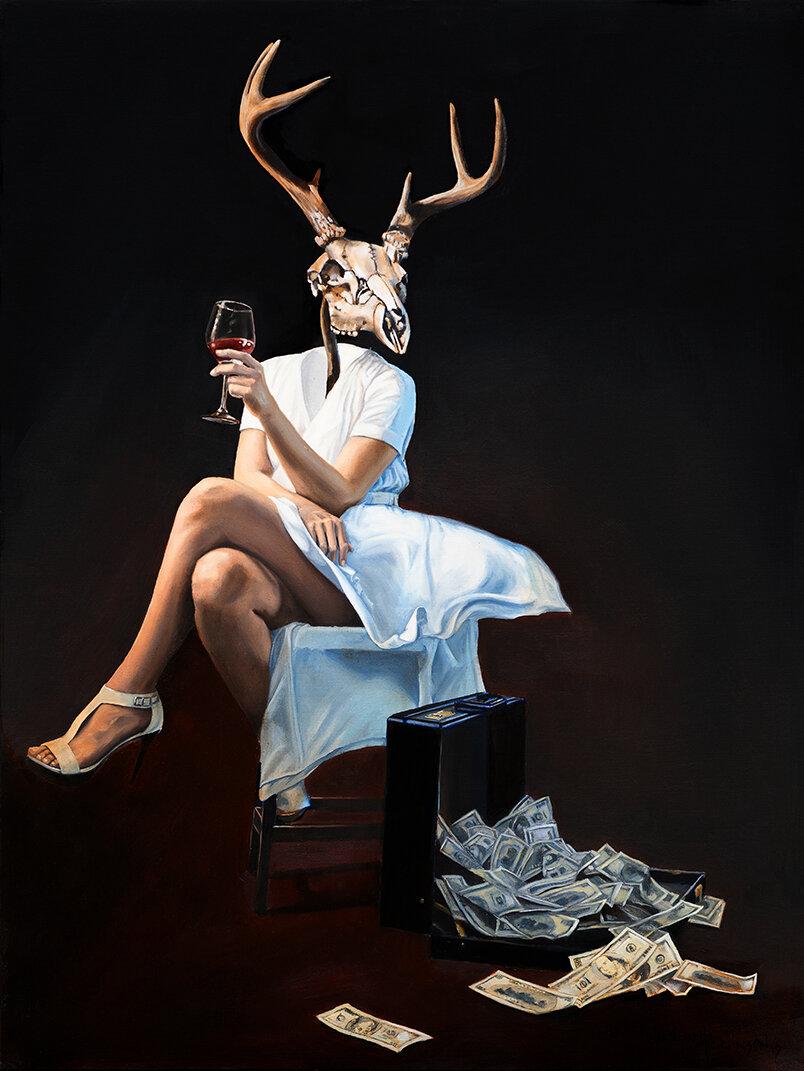 janine+skull+surrealism+oil+painting+william+d+higginson.jpg