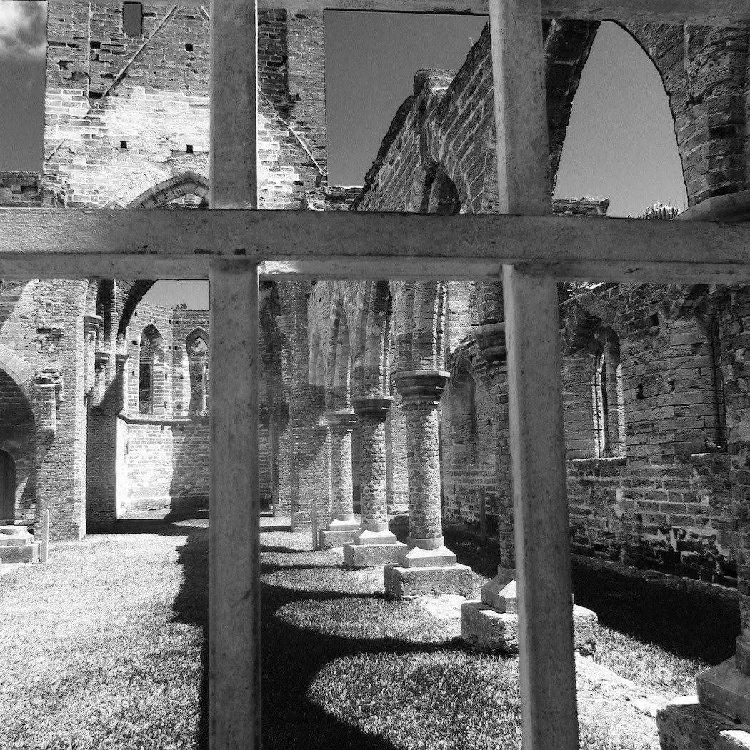 H. M. Fall Shoot OutGeometric ShapesB&W_The Unfinished Church_Holly Linton.jpg
