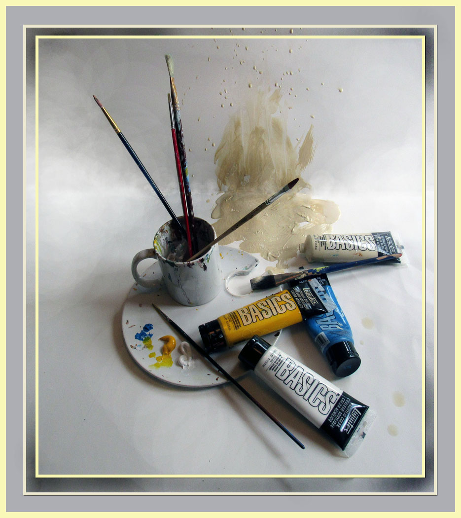 Honorable Mention: Art on a Pallete - Donald Chillemi