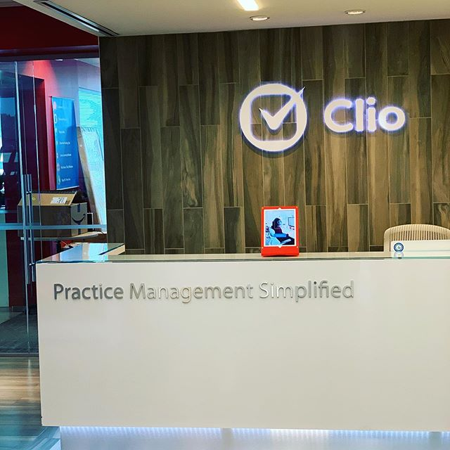 We hung out at the @goclio office today. Thanks for being such amazing hosts!