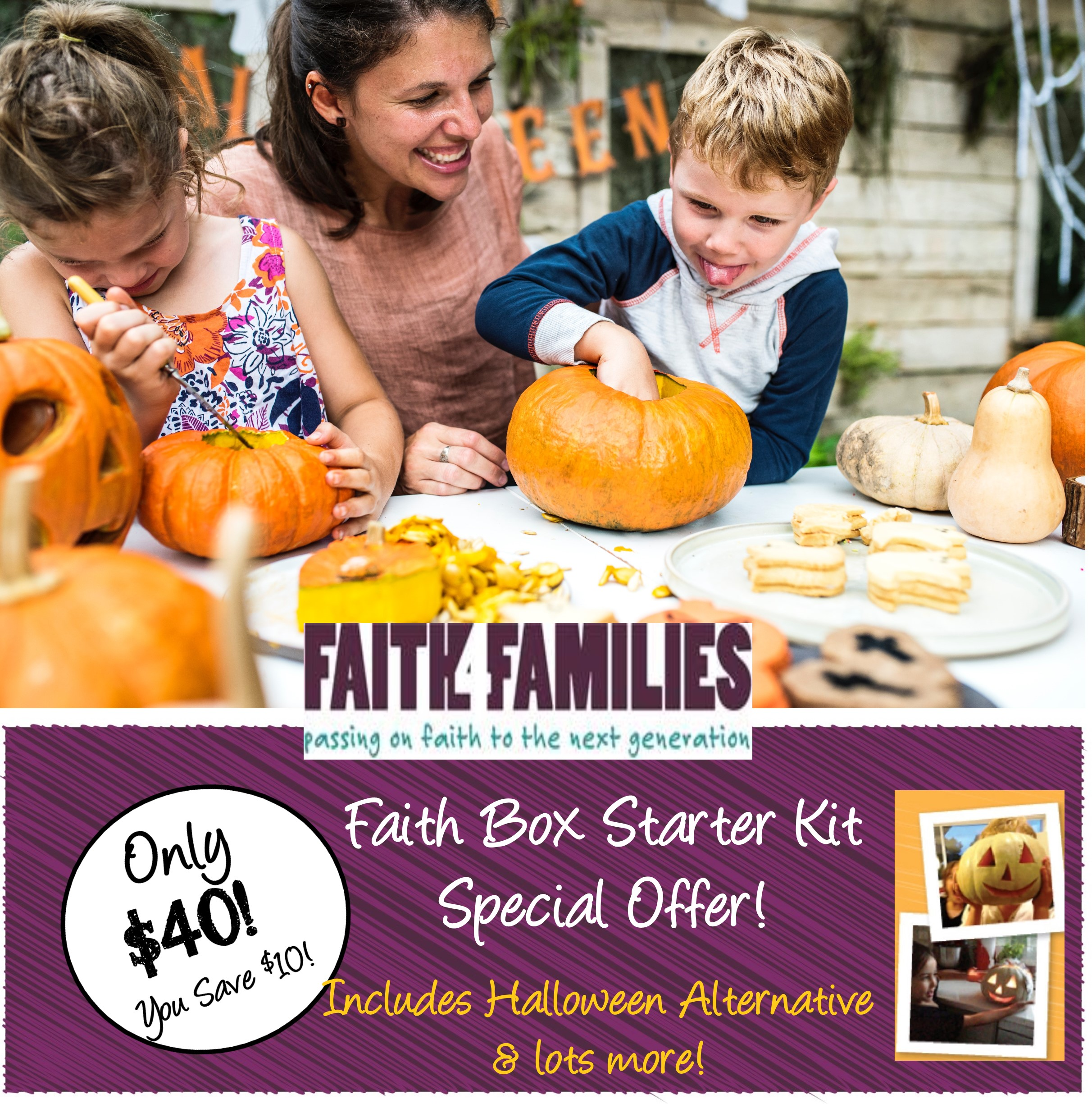 Halloween Alternative Faith Box Special Offer!