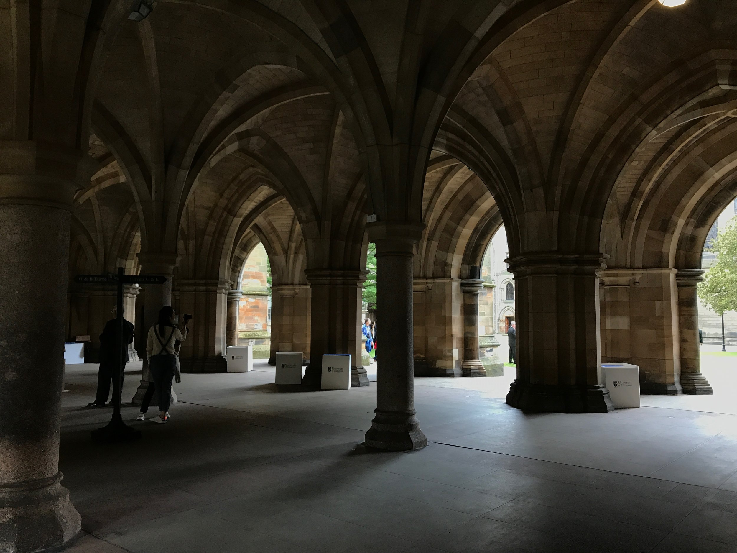The Cloisters at the University of Glasgow