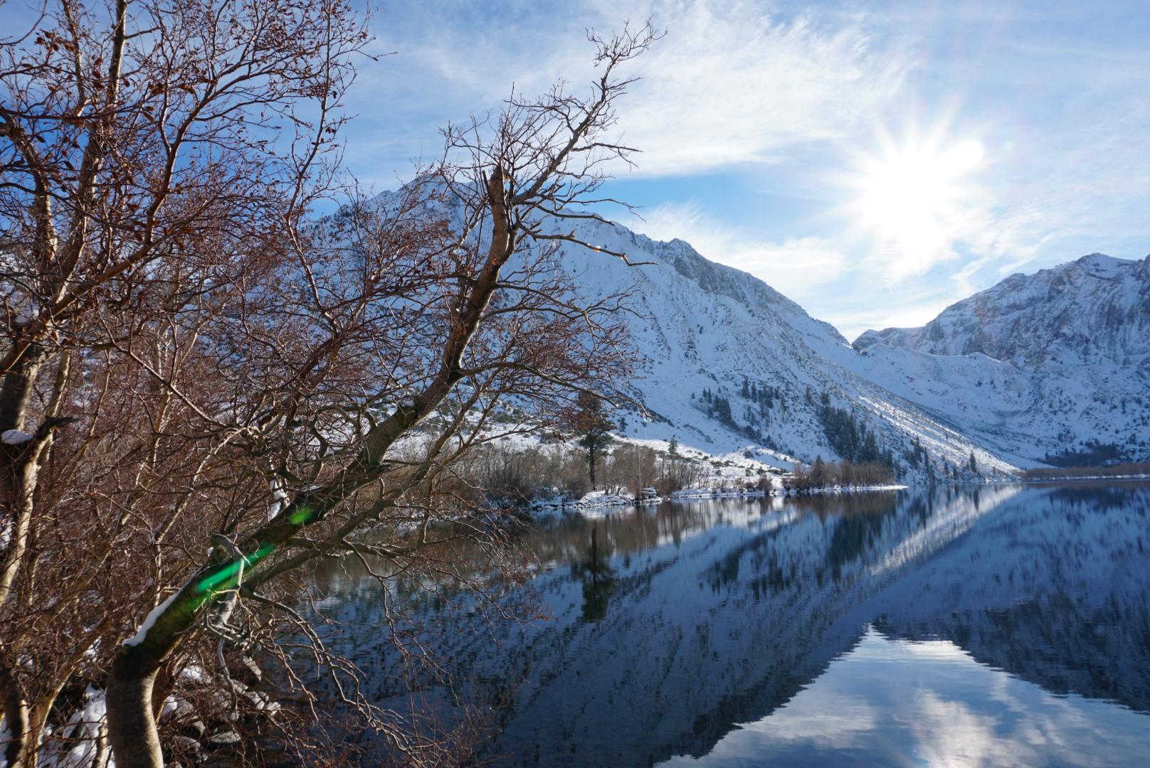 Convict Lake in the Winter