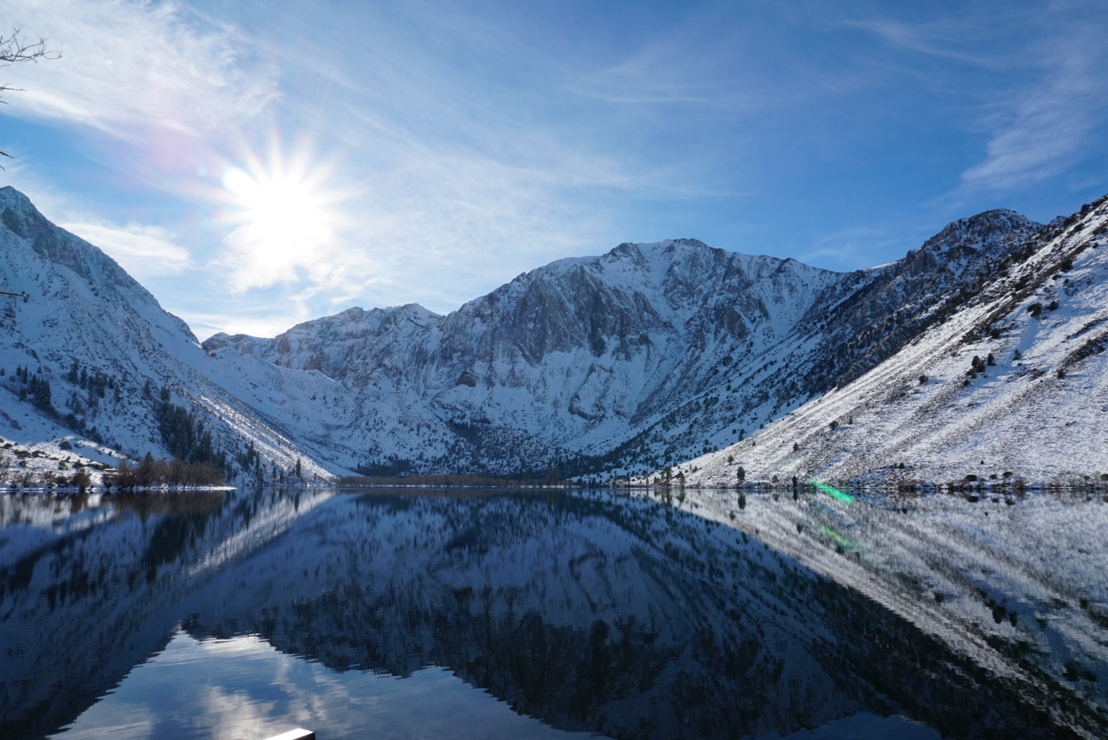 Reflections in Convict Lake