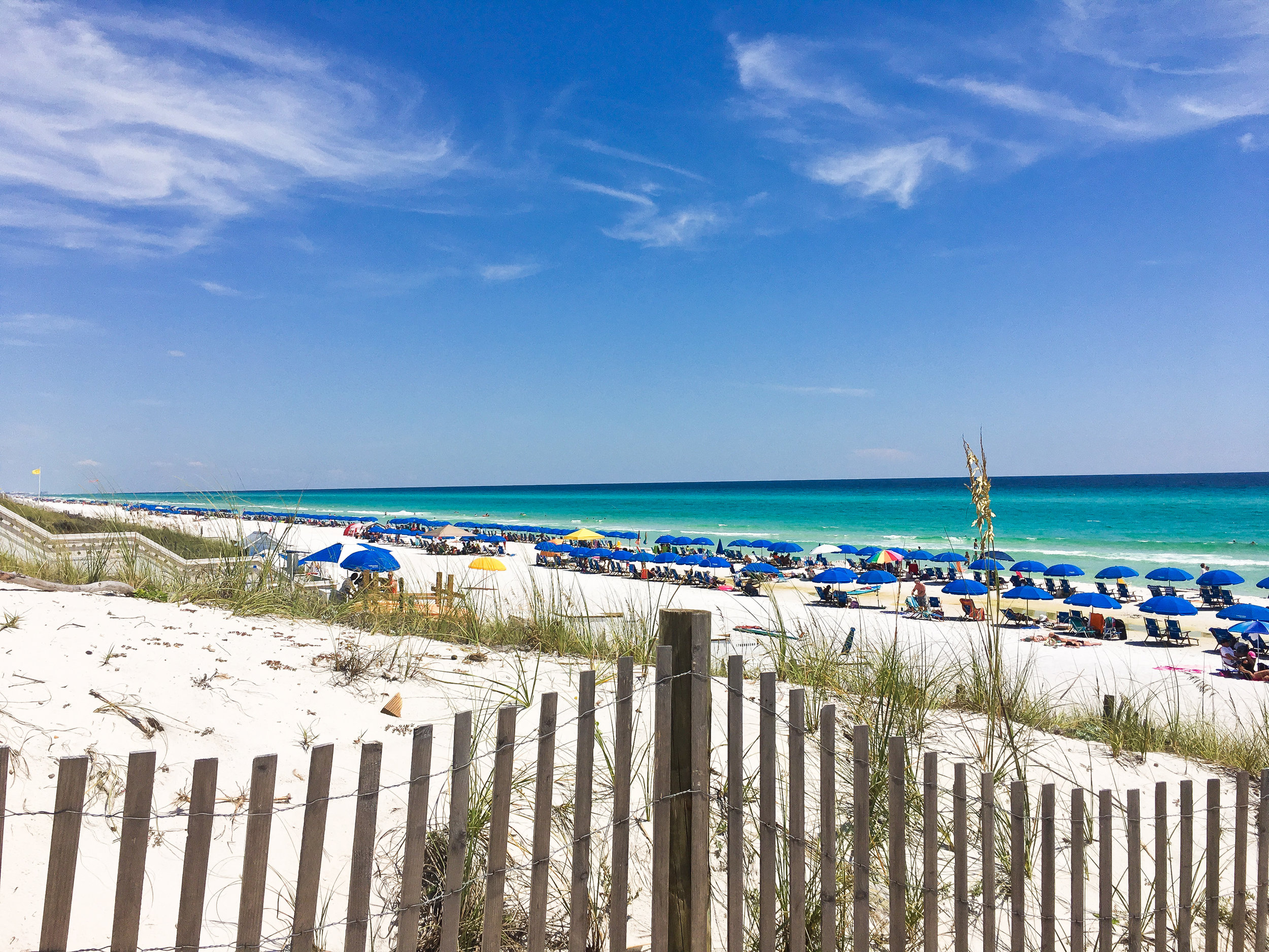 A beautiful beach day in Seaside, Florida. Photo by Chic Travels.