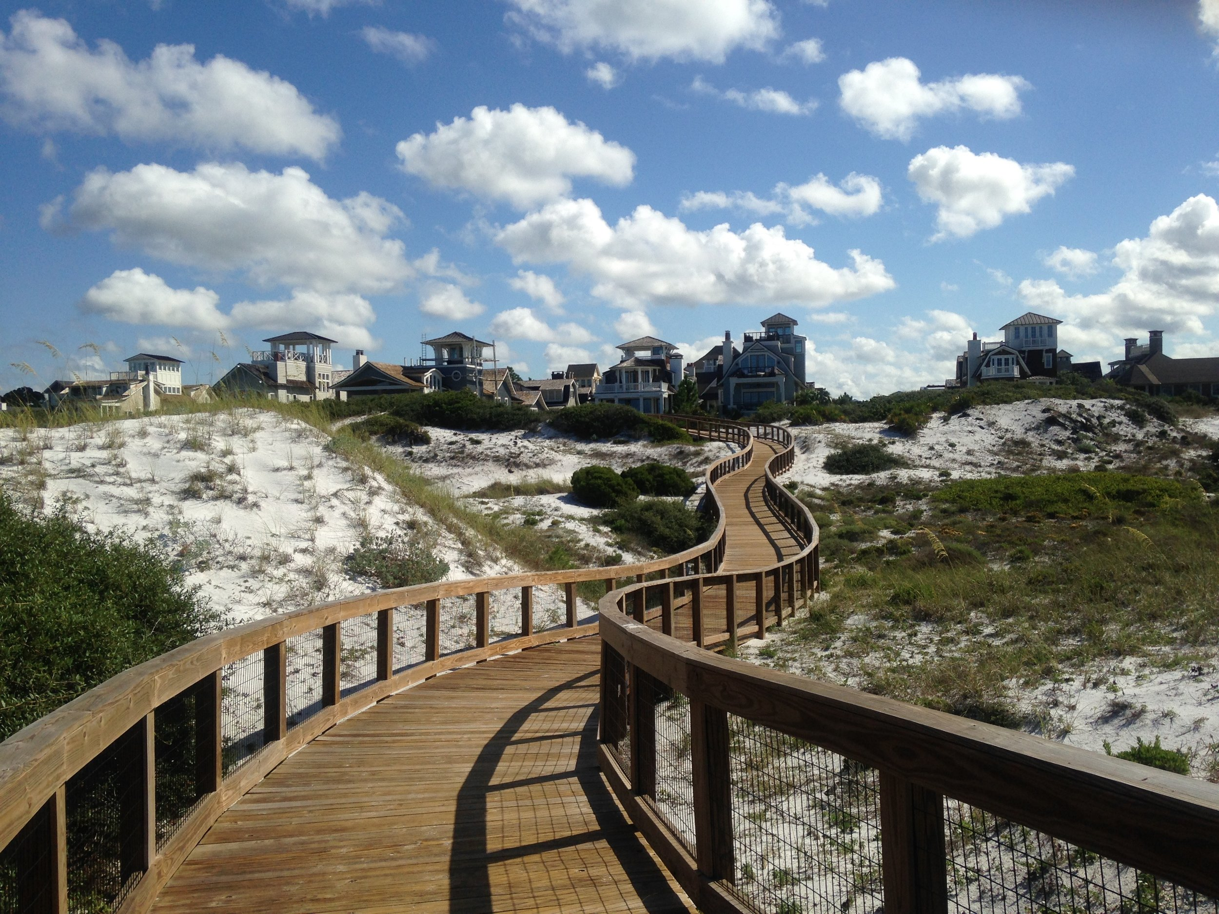 Pathway to the beach, Watersound. Photo by Chic Travels