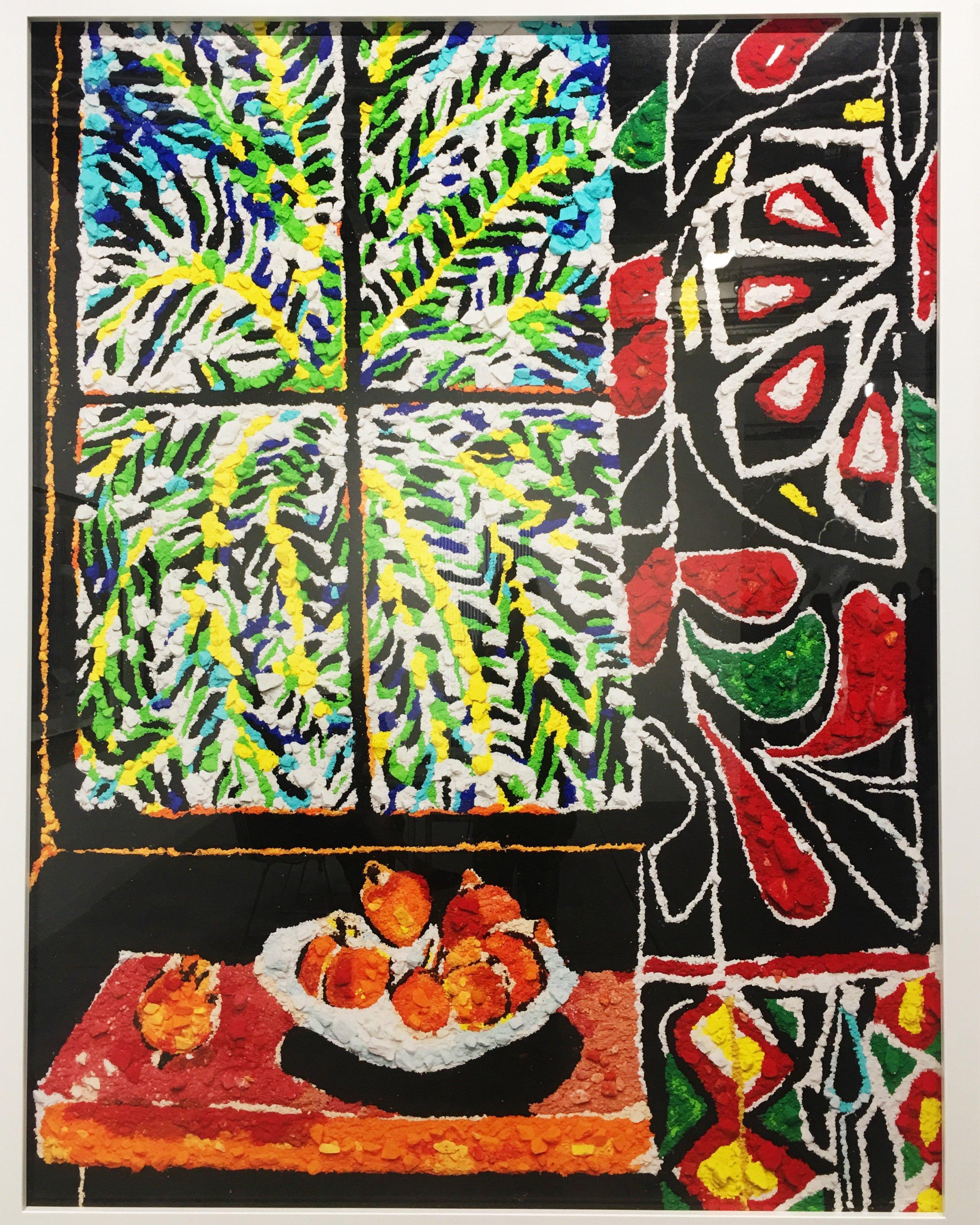 Vik Muniz, Metachrome (Interior with Egyptian Curtain, after Matisse).JPG