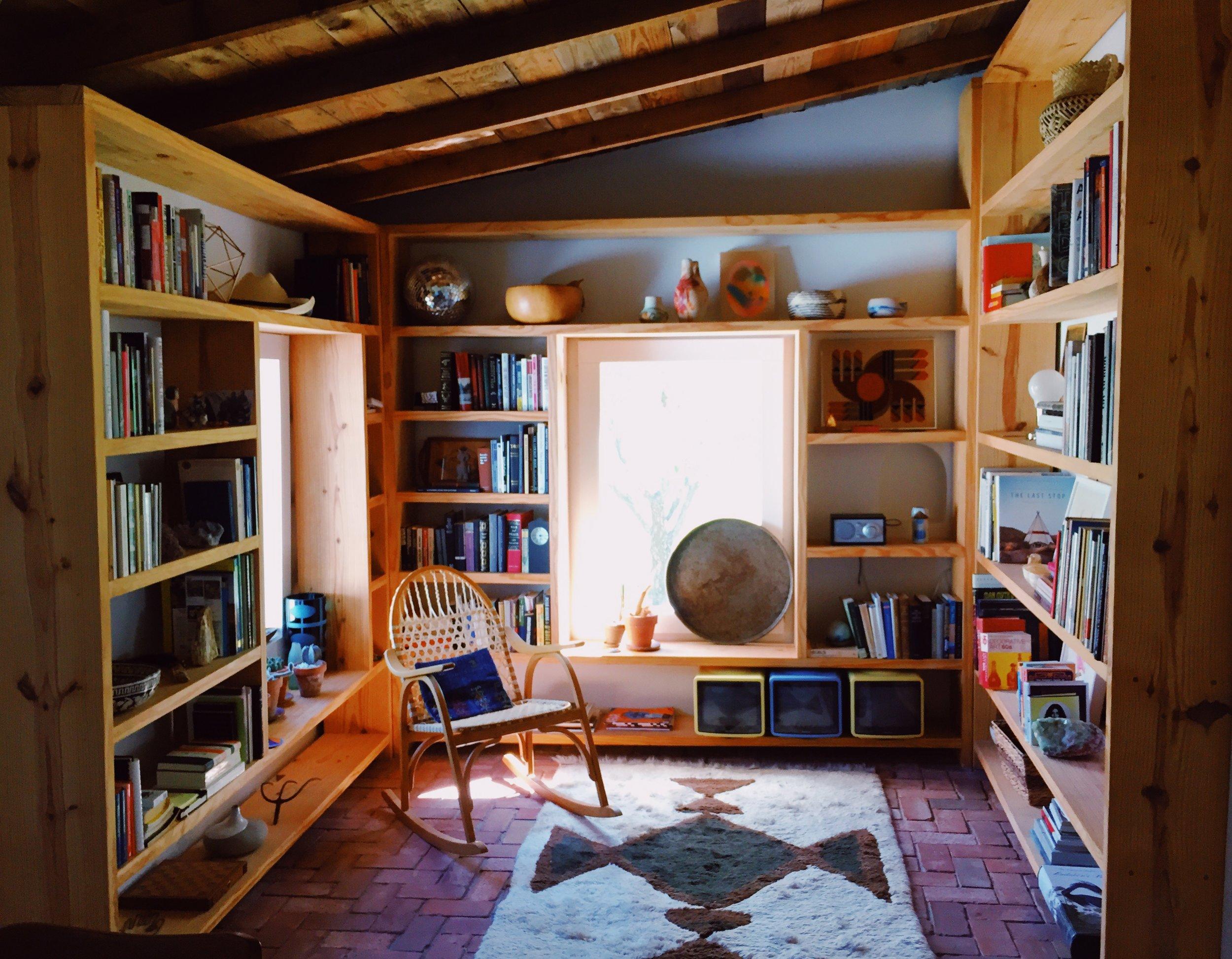 The extra fabulous library. Photo by Jodee Molina.