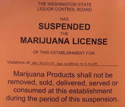 Legal Cannabis Marijuana Business License