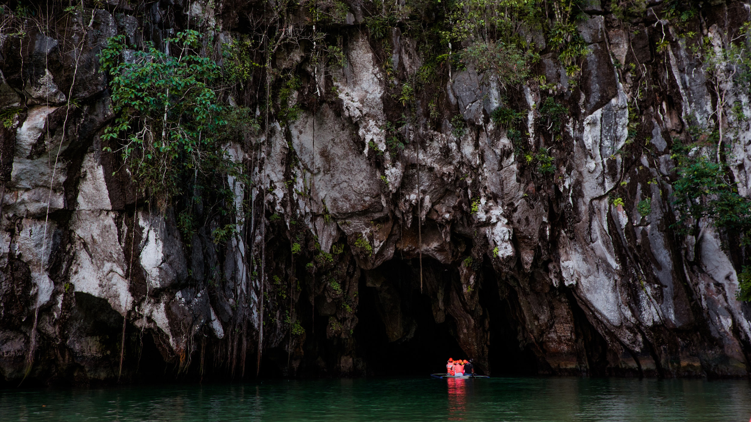 Entrance to the Underground River.