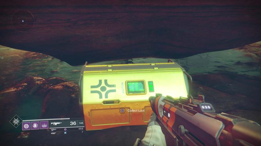 Loot chest in Destiny 2