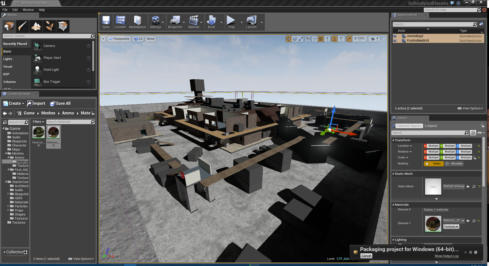 Unreal Engine 4 - Level Blockout