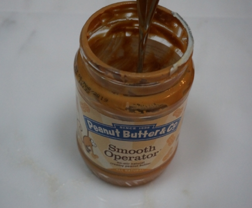 I usually have a scoop of either peanut butter or almond butter before I make breakfast. I am too hungry to wait!