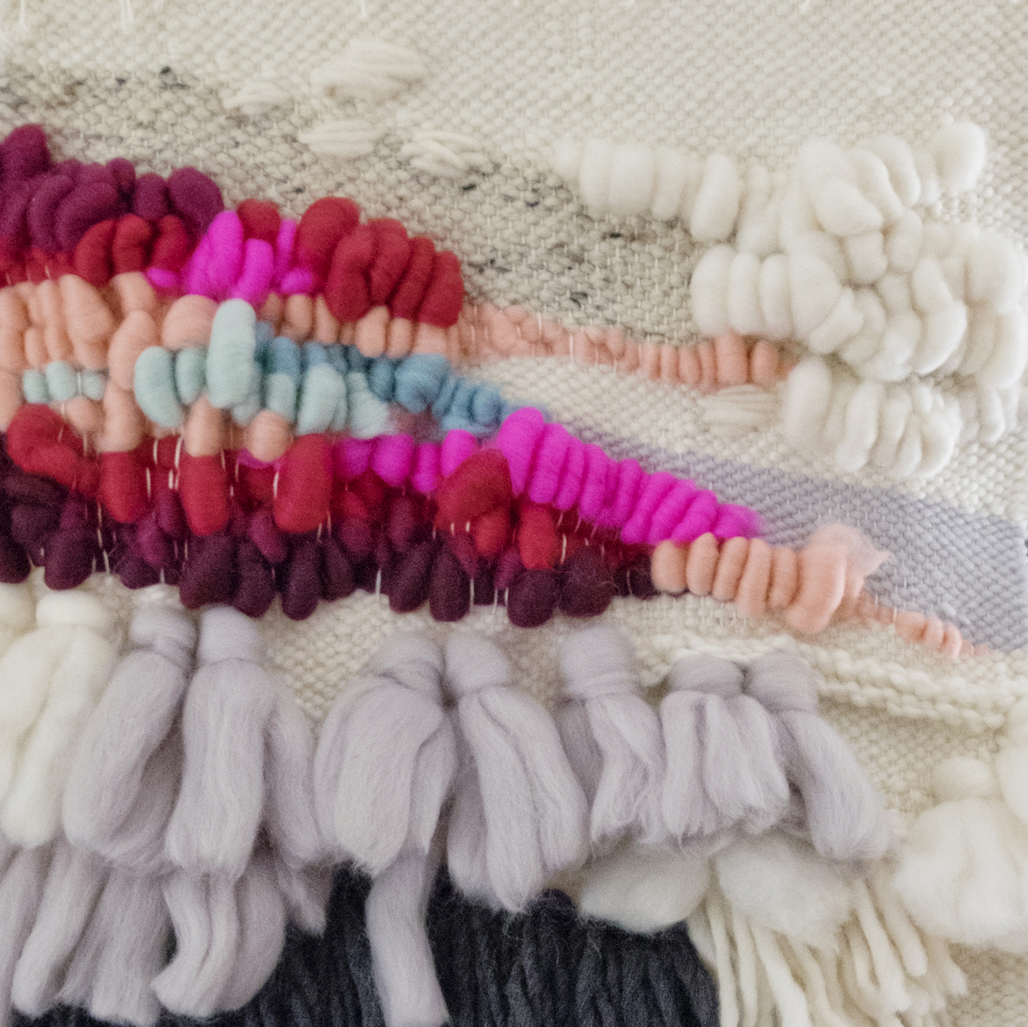 Weaving Techniques, Color Theory and Roving - instruction from Maryanne Moodie and Megan Schimek