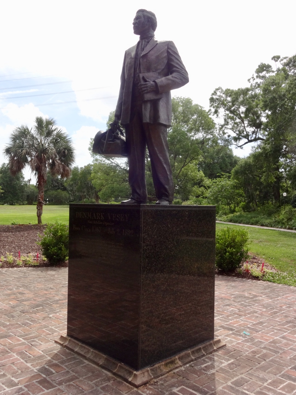 Photo I took of Denmark Vesey statue in Hampton Park, Charleston, SC. 2018