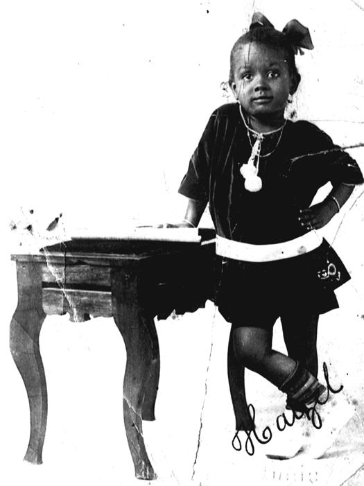 Hazel Scott as a child