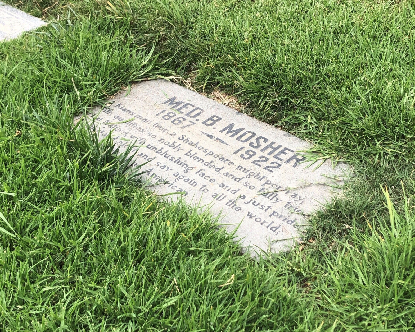 This is at Inglewood Cemetery.