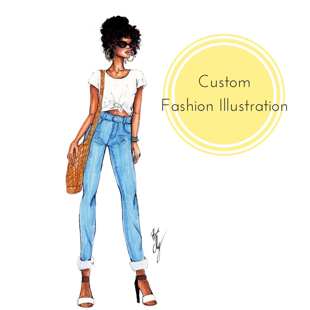 Etsy - Shop custom illustrations, wall art and more!