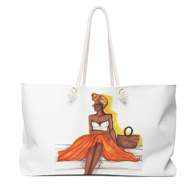 Introducing brand new tote and weekender bags to our shop! Perfect for weekends at the beach or in town! Visit the link in profile to see more. #totebags #weekenderbag #summertote #summerstyle #summervibes #fashionart #fashionlover #fashionillustration #fashionillustrator #creativeentrepreneur #giftsforher