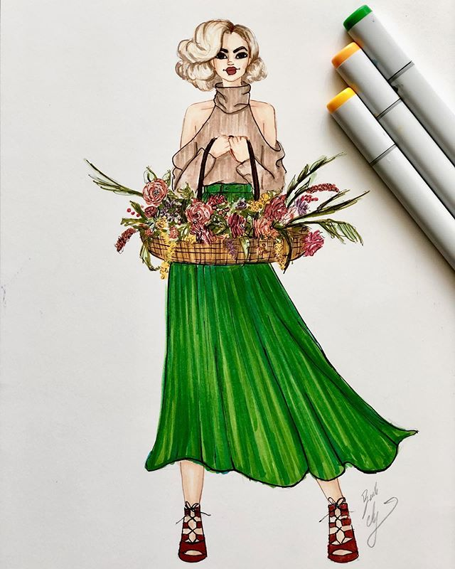 We're getting closer and closer to the fall season, which means a new collection of autumn inspired art prints for you to enjoy! This one is available now at: www.brookeashleycollection.com and our #etsyshop: www.etsy.com/shop/BACartStudio. Keep a look out for more #fallfashion art later this week.    #fallillustration #falldecor #fashionillustration #fashionillustrator #fashionsketch #fashiondrawing #etsyprints #helloseptember #fallvibes #shopsmall #sweaterweather #fashionprint #BACartStudio