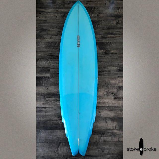 "7'0"" Marc Andreini Pocket Rocket microwing available on www.stokenbroke.com. @marcandreini #marcandreini #surfboard #usedsurfboards"