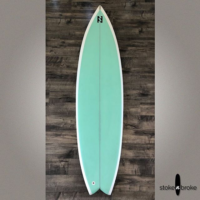 "6'3"" Tyler Warren Truster Fish. Available on www.stokenbroke.com. @tyler_warren #tylerwarrenshapes #tylerwarrensurfboards #usedsurfboards #stokenbroke"