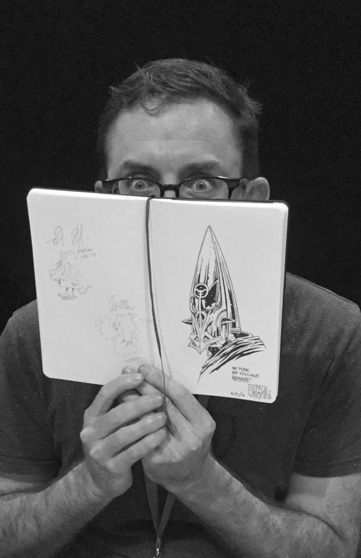 Mark Sexton    Conceptual Artist / Storyboards